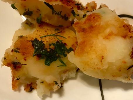 Garlic Butter Mashed Potato Balls