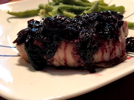 Cherry Chutney Pork Chops