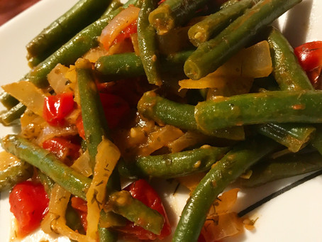 Lemon Mustard Green Beans