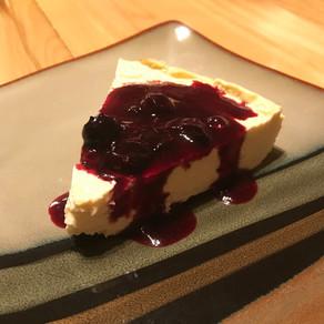 Skinny Berry Cheesecake