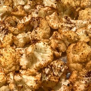 Spiced Cauliflower Bites
