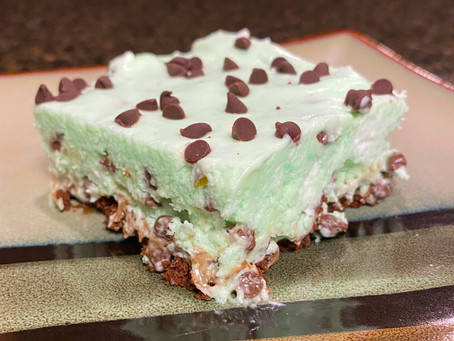 Skinny Grasshopper Ice Cream Cake
