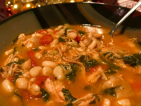 Turkey Spinach Soup
