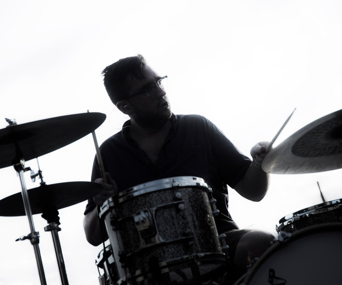 A drummer in York, Pa.