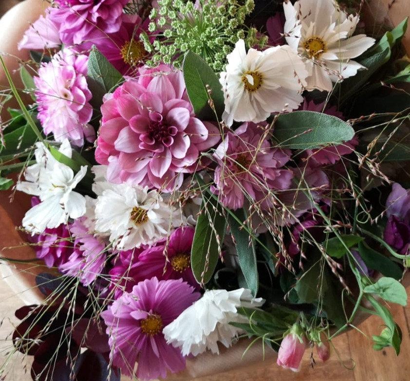 Blommor och buketter