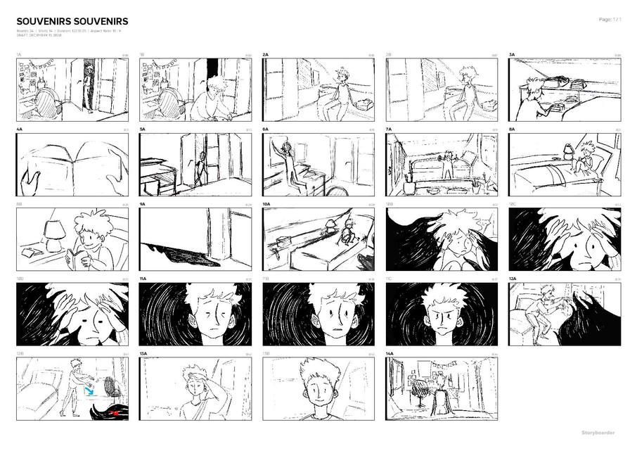 Story-board - Charlie Brault