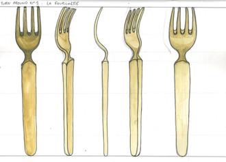 Turn around fourchette réaliste - Laura Luaki