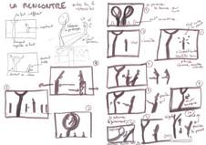 Storyboard rencontre - Laura Luaki