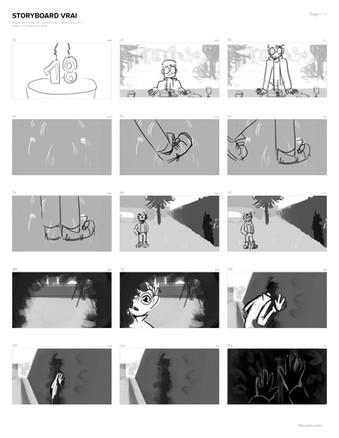 Extrait Story-board - Alexis Thiébaut