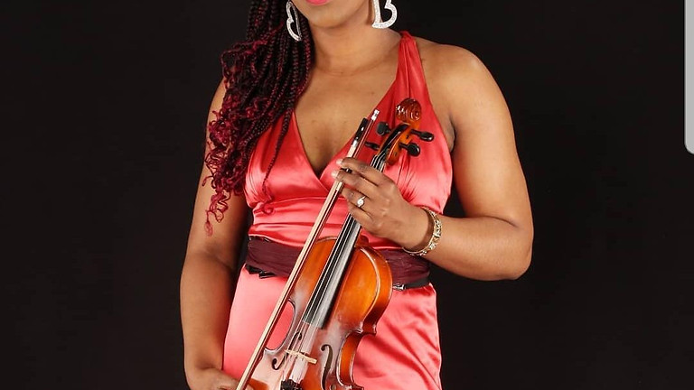 Zoom interactive...an audience with Melika Queely, Violinist