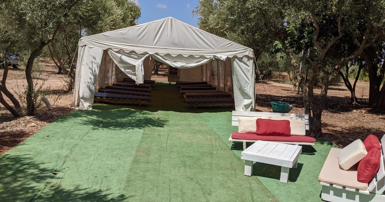מתחם אוהלי החאן