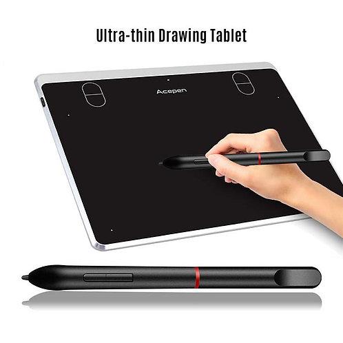 """Acepen AP604 Silver 6x4"""" Grafik Tablet"""
