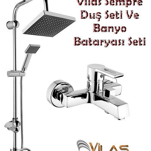 Vilas Sempre Duş Seti Ve Banyo Bataryası Seti