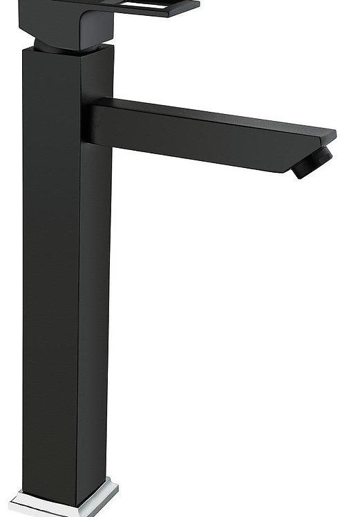 Vilas Trento Siyah Uzun Çanak Lavabo Bataryası