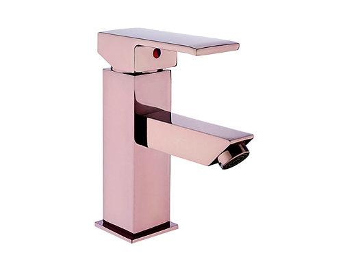 Vilas Siena Pink Kare Mix Lavabo Bataryası