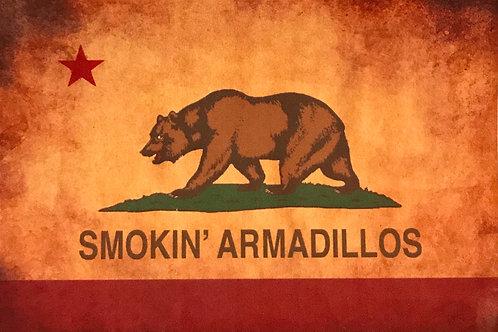 "Sticker - SA ""California Flag"