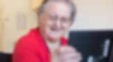 Senior Katherine utilizes technology by using the Milo app to set goals