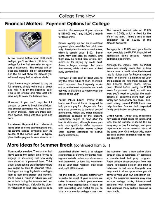 June 3 College Time Now newsletter June  2021.jpg