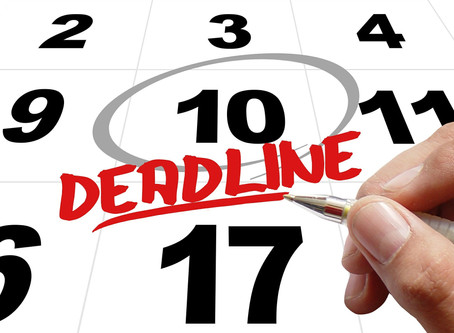 Early Application Deadlines