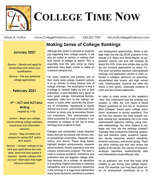 College Time Now newsletter Jan 2021 (1)