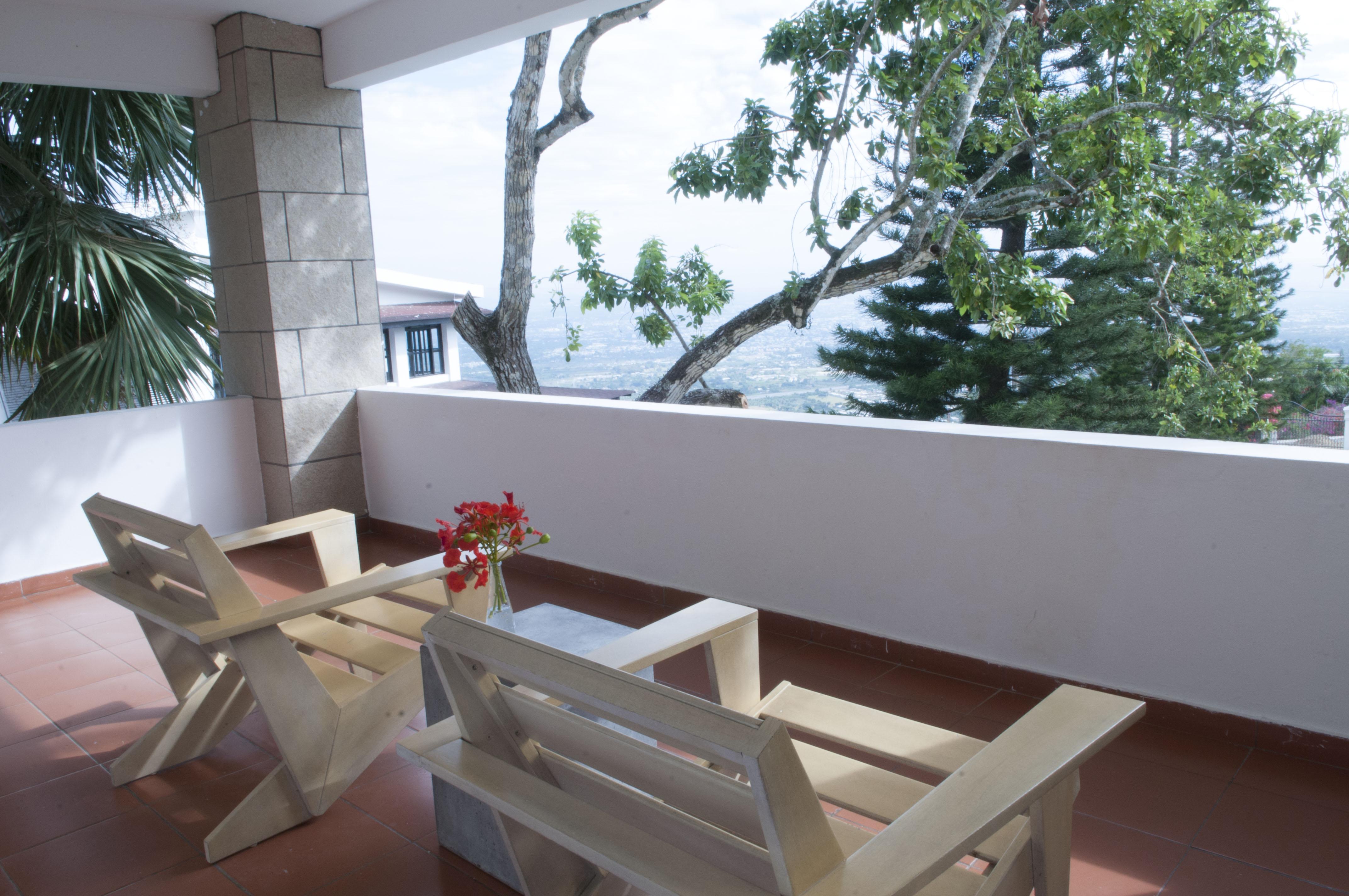 Balcony daylight