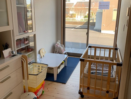 1月から「病後児保育室」の準備が整いました!
