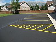 Utah County Seal Coat and Striping Asphalt repair parking lot orem provo crack seal patching pothole repair gt asphalt 8016230169