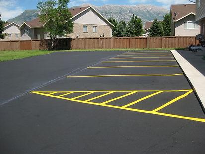 american fork parking lot repair maintenance sealcoat crack seal striping indoor outdoor asphalt pothole