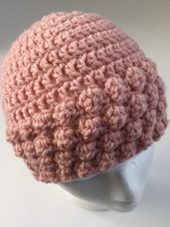 Crocheted hat- toddler 2-4