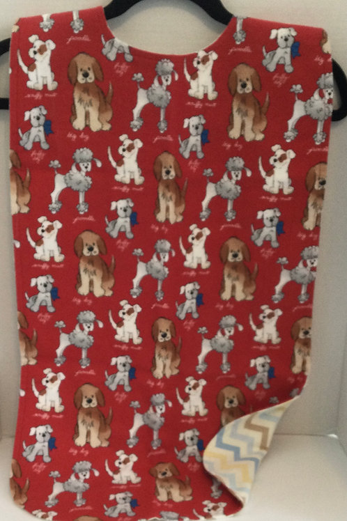 Clothing Protector- dogs theme