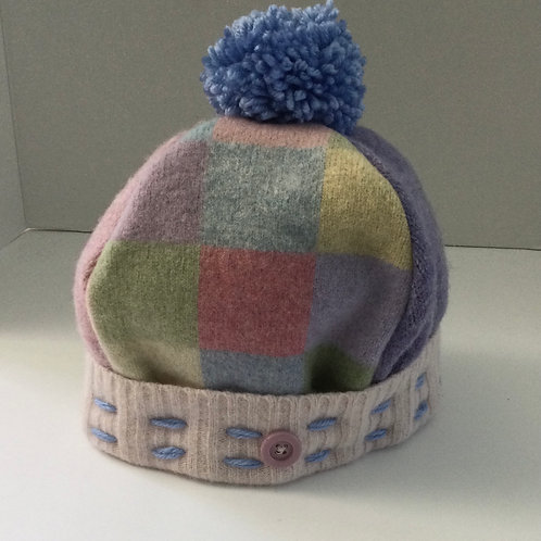 Sweater Hat-pastels