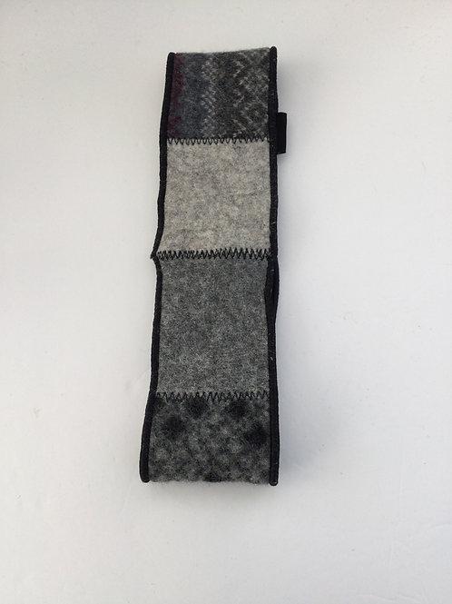 Classic ear warmer- gray, black, charcoal