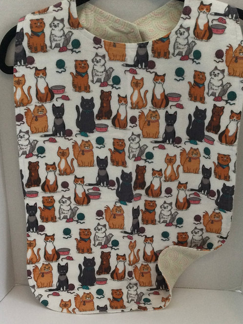 Clothing Protector- cat theme