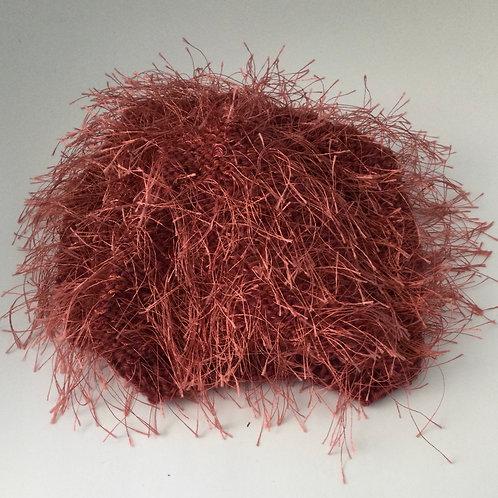 Fun Fur Child's Hat- rust