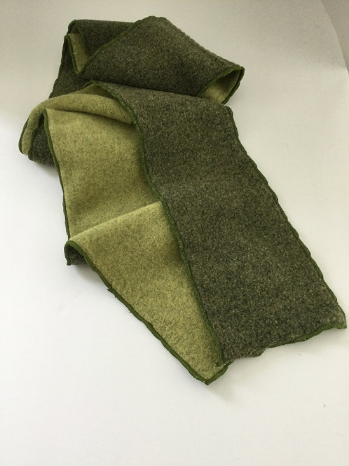 Fleece Scarf- sage green