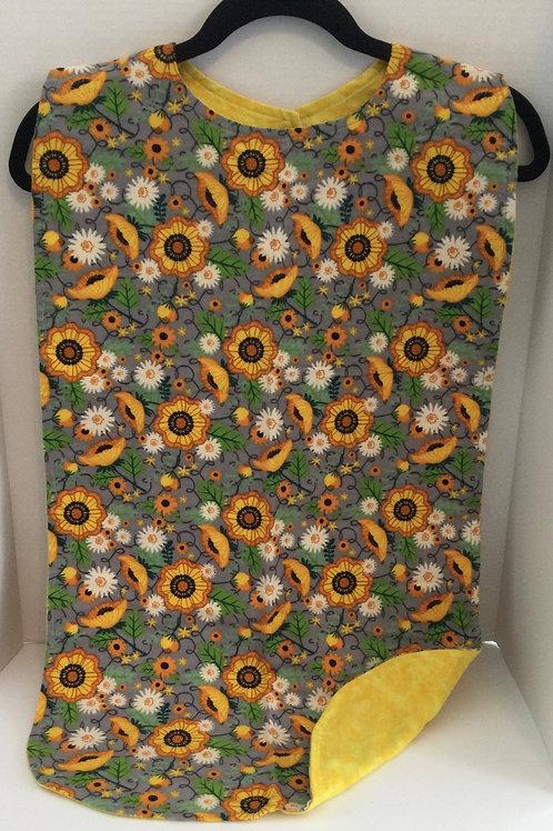 Clothing Protector- daisy theme