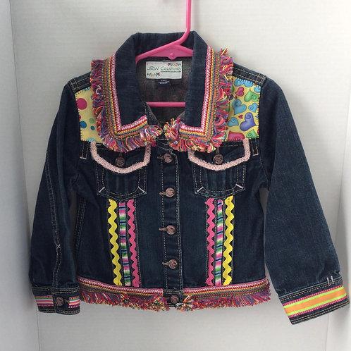 Jeans Jacket- Hearts Theme- 4