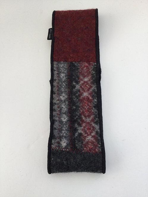 Classic ear warmers- gray, burgundy, charcoal
