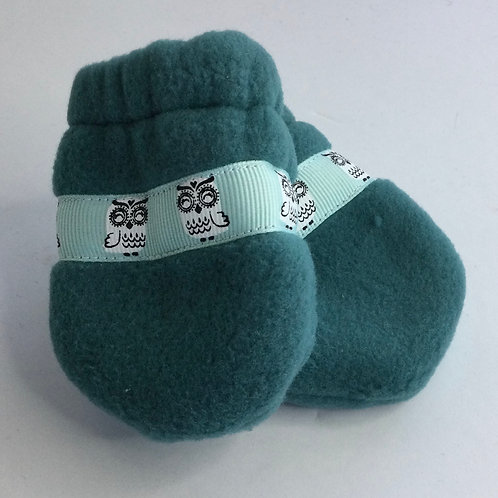 Polartec Mittens- dark teal- infant