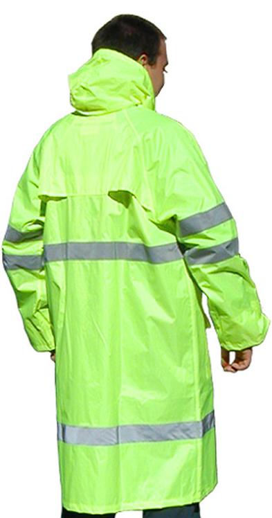 Płaszcz  przeciwdeszczowy ostrzegawczy Saturn