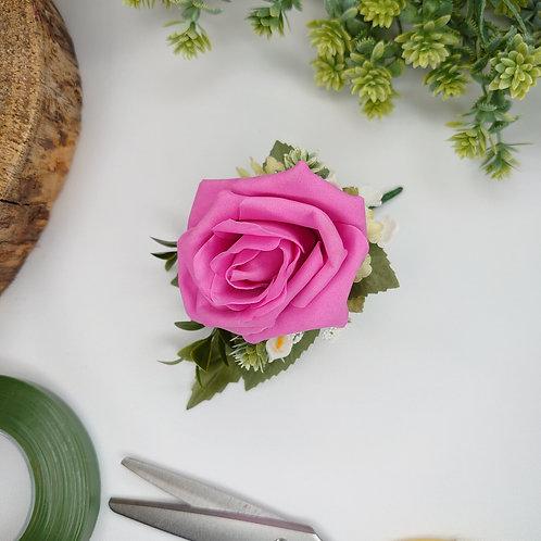 Pink Rose Lapel/Wrist/Handbag Corsage