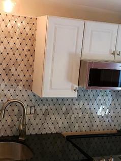 Installing Kitchen backsplash