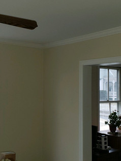 After sheetrock and paint.