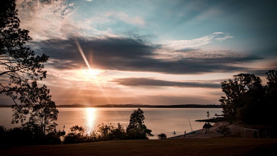 Sunset Over La Laguna
