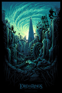 Two towers l Dan Mumford