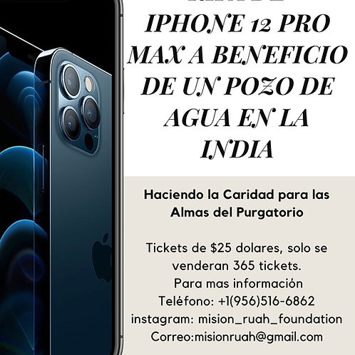 iPhone TICKET Rifa 069