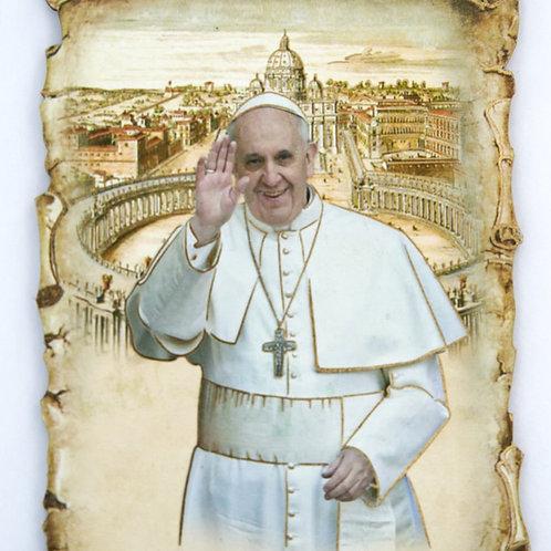 Cuadro del Santo Padre Papa Francisco. Dólares