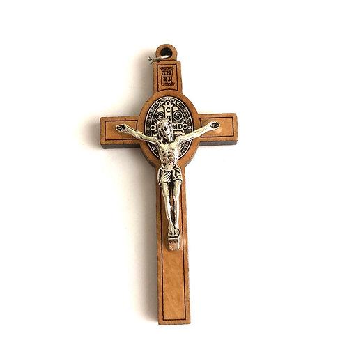 MC001 Cruz Señor Jesús y Imagen San Benito
