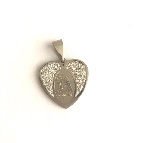 J038 medalla Virgen Medjegourge