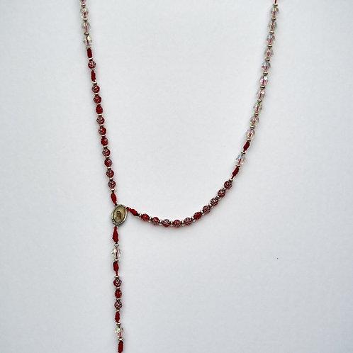 Rosario rosas rojas MR011. Dólares